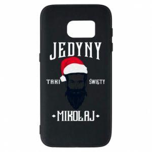 Etui na Samsung S7 Jedyny taki Święty Mikołaj