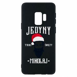 Etui na Samsung S9 Jedyny taki Święty Mikołaj