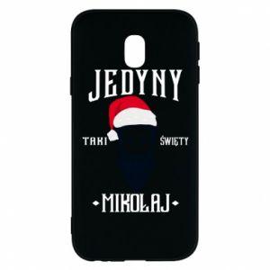 Etui na Samsung J3 2017 Jedyny taki Święty Mikołaj