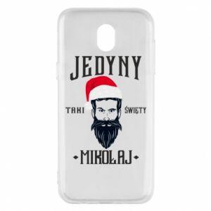Etui na Samsung J5 2017 Jedyny taki Święty Mikołaj