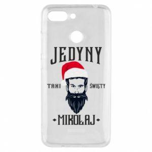 Etui na Xiaomi Redmi 6 Jedyny taki Święty Mikołaj