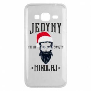 Etui na Samsung J3 2016 Jedyny taki Święty Mikołaj