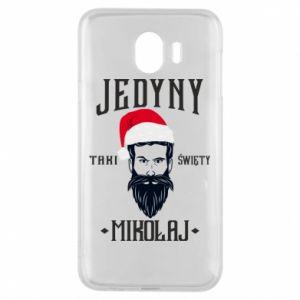 Etui na Samsung J4 Jedyny taki Święty Mikołaj