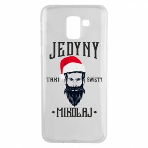 Etui na Samsung J6 Jedyny taki Święty Mikołaj