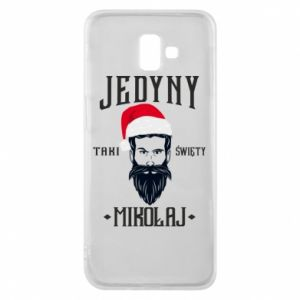 Etui na Samsung J6 Plus 2018 Jedyny taki Święty Mikołaj