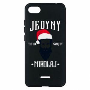 Etui na Xiaomi Redmi 6A Jedyny taki Święty Mikołaj