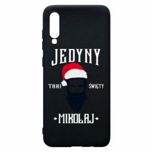 Etui na Samsung A70 Jedyny taki Święty Mikołaj