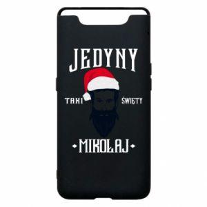 Etui na Samsung A80 Jedyny taki Święty Mikołaj
