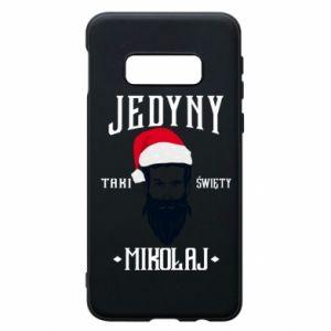 Etui na Samsung S10e Jedyny taki Święty Mikołaj