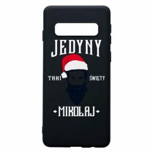 Etui na Samsung S10 Jedyny taki Święty Mikołaj