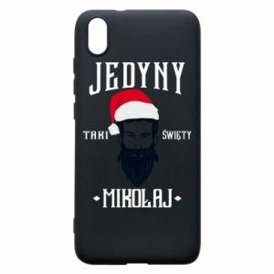 Etui na Xiaomi Redmi 7A Jedyny taki Święty Mikołaj