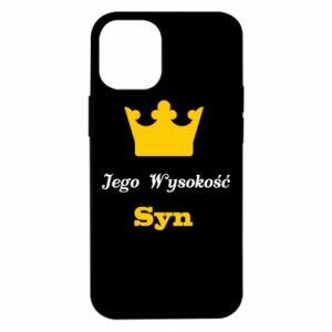 Etui na iPhone 12 Mini Jego Wysokość Syn