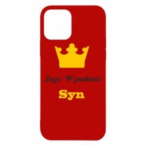 Etui na iPhone 12/12 Pro Jego Wysokość Syn