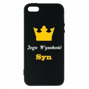 Etui na iPhone 5/5S/SE Jego Wysokość Syn