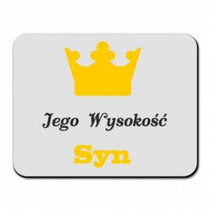 Mouse pad His Highness Son