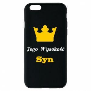 Etui na iPhone 6/6S Jego Wysokość Syn