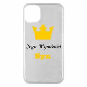 Etui na iPhone 11 Pro Jego Wysokość Syn