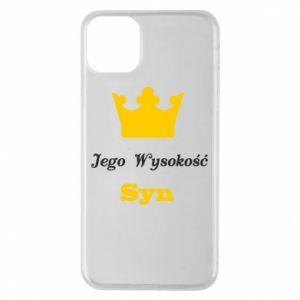 Etui na iPhone 11 Pro Max Jego Wysokość Syn