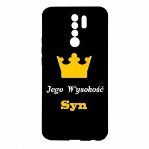 Etui na Xiaomi Redmi 9 Jego Wysokość Syn