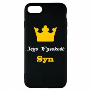 Etui na iPhone 8 Jego Wysokość Syn