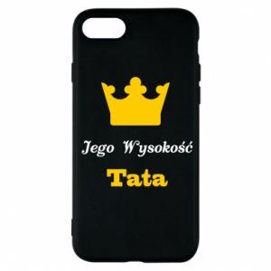 Etui na iPhone 7 Jego Wysokość Tata