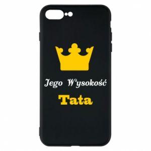 Etui na iPhone 8 Plus Jego Wysokość Tata