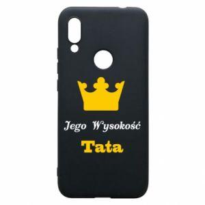 Etui na Xiaomi Redmi 7 Jego Wysokość Tata