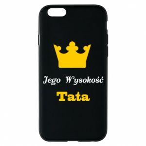Etui na iPhone 6/6S Jego Wysokość Tata