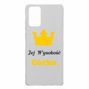 Etui na Samsung Note 20 Jej Wysokość Córka
