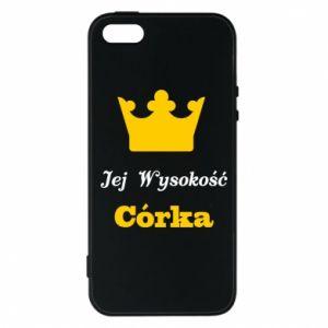 Etui na iPhone 5/5S/SE Jej Wysokość Córka