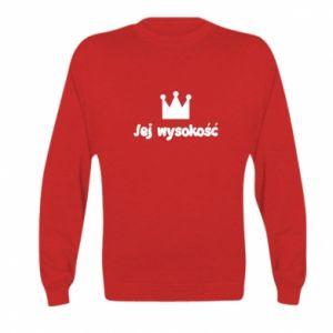Kid's sweatshirt Her Highness, for daughter