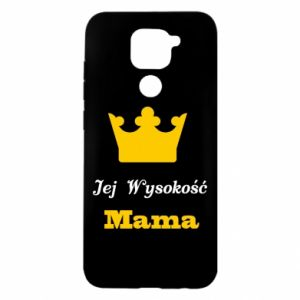 Etui na Xiaomi Redmi Note 9/Redmi 10X Jej Wysokość Mama