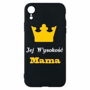 Etui na iPhone XR Jej Wysokość Mama