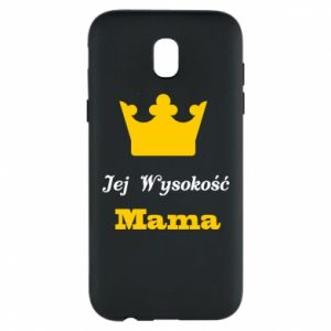 Etui na Samsung J5 2017 Jej Wysokość Mama