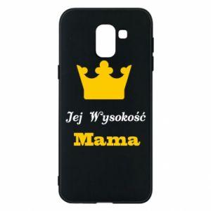 Etui na Samsung J6 Jej Wysokość Mama