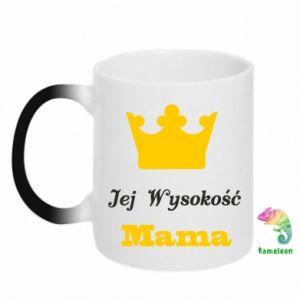 Chameleon mugs Her Highness Mama