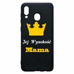 Etui na Samsung A30 Jej Wysokość Mama