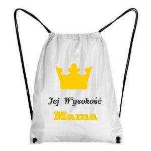 Plecak-worek Jej Wysokość Mama