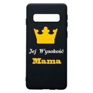Etui na Samsung S10 Jej Wysokość Mama