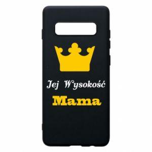 Etui na Samsung S10+ Jej Wysokość Mama