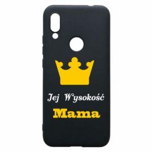 Etui na Xiaomi Redmi 7 Jej Wysokość Mama