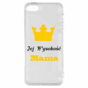 Etui na iPhone 5/5S/SE Jej Wysokość Mama
