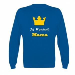 Bluza dziecięca Jej Wysokość Mama