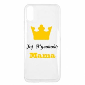 Etui na Xiaomi Redmi 9a Jej Wysokość Mama