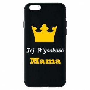 Etui na iPhone 6/6S Jej Wysokość Mama