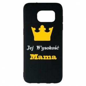 Etui na Samsung S7 EDGE Jej Wysokość Mama