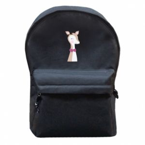 Backpack with front pocket Deer cub