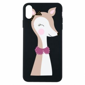 iPhone Xs Max Case Deer cub