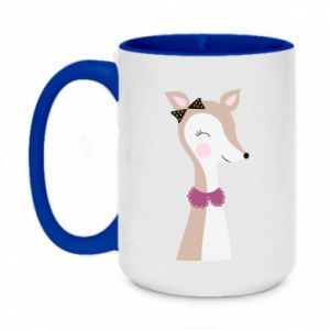 Two-toned mug 450ml Deer cub