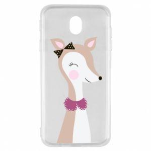 Samsung J7 2017 Case Deer cub